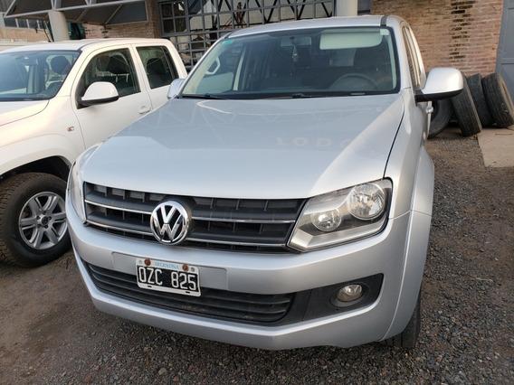 Volkswagen Amarok 4x4 Trendline Aut 2015-agencia Todo Camion