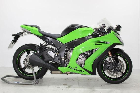 Kawasaki Ninja Zx-10r 2011 Verde