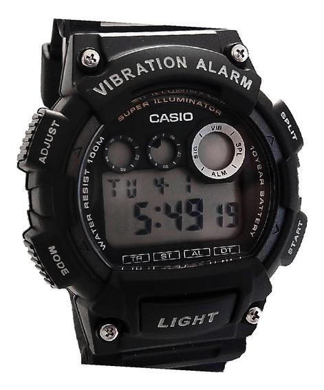 Relógio Casio Alarme Vibratório W735