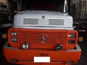 Caminhão Mb Ls 1934 6x2 Em Boa Conservação, Ano 1990