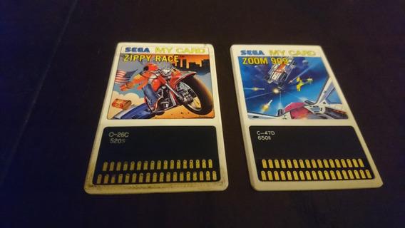 Zippy Race Original Pra Sega Mark, Apenas Um Jogo