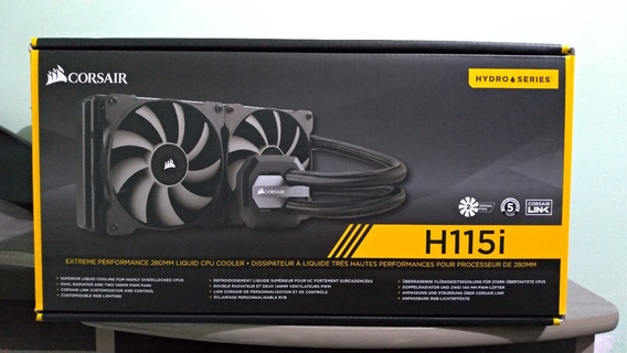 Water Cooler Corsair H115i Extreme Performace 280mm