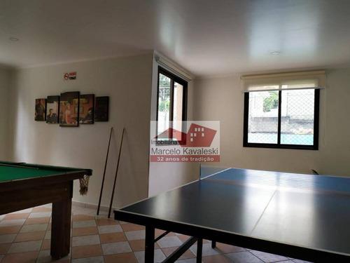 Apartamento Com 2 Dormitórios À Venda, 63 M² Por R$ 530.000 - Vila Monumento - São Paulo/sp - Ap13457