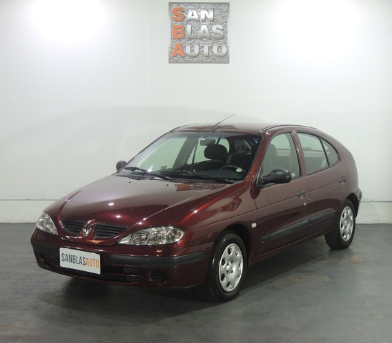 Renault Megane Bic 1.6 L Pack Plus 5p Cc Ab Aa San Blas Auto