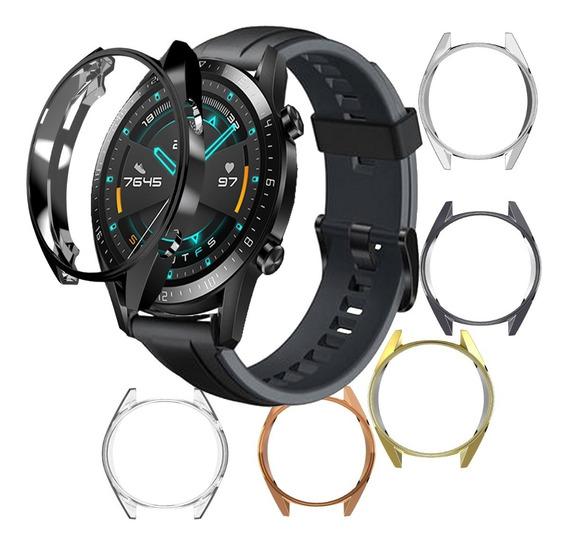 Case Mica Protector Brillante Para Huawei Watch Gt 2 46mm