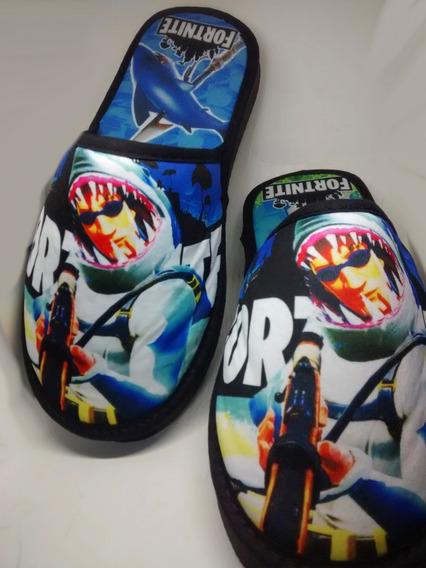 Pantuflas Fortnite Sharkman(leer P Frecuentes,foto3)
