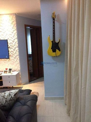 Imagem 1 de 16 de Apartamento Com 2 Dormitórios À Venda, 104 M² Por R$ 392.200,00 - Jardim Ipanema - Santo André/sp - Ap0818