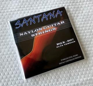 Encordado Nylon Guitarra Acustica Electroacustica 6 Cuerdas