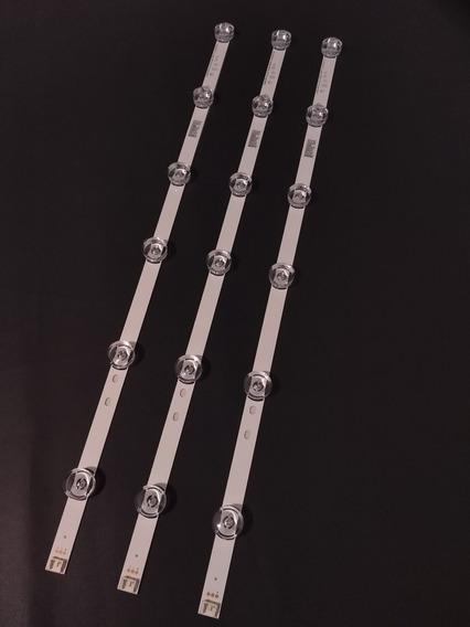 Kit Barras Led 32lb550b 32lb560b 32lb570b 32lb580b -alumínio