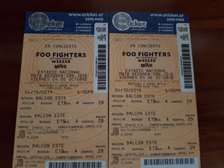 Vendo Entradas Para Los Foo Fighters