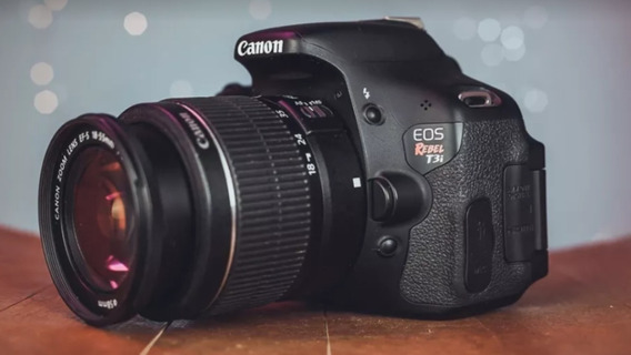 Camera Canon T3i /600d Com Lente Ef-s 18-55mm