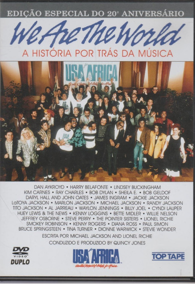 Dvd Duplo We Are The World