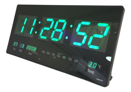 Relógio De Parede Led Digital Grande Pronta Entrega + Nf-e