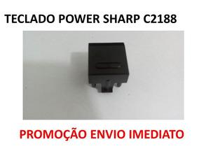 Teclado Power Tv Sharp C2188, Promoção Envio Imediato