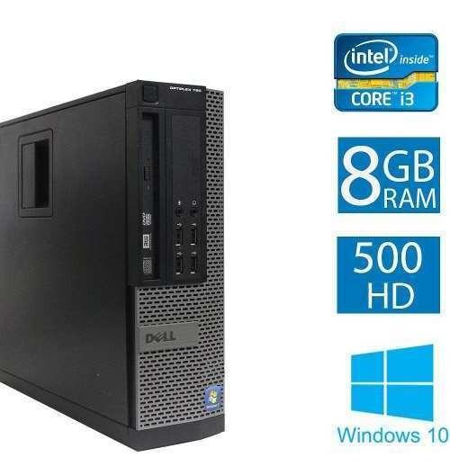 Computador Cpu Dell Optiplex 790 I3 8gb 500hd