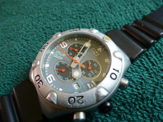 Time Force Mega Wave Reloj Vintage Retro Cronometro