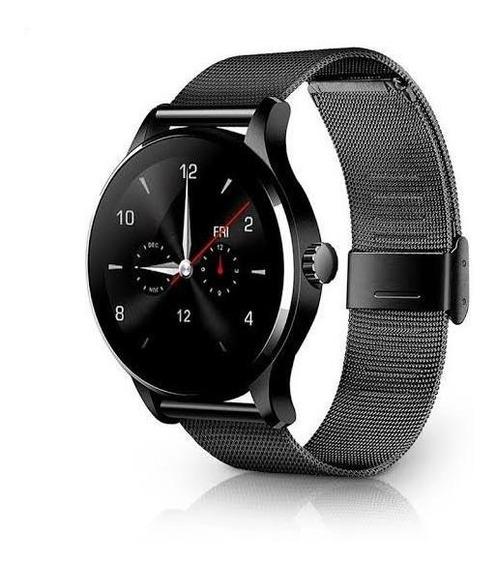 K88h Bluetooth Inteligente Reloj Smartwatch - Acero Inox