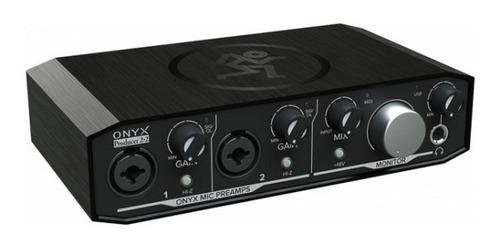 Interfaz Mackie Onyx Producer 2.2 - 2 Canales Usb Y Midi 22
