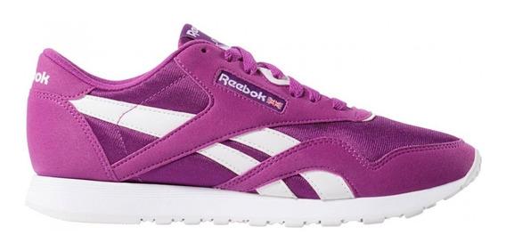Zapatillas Reebok Cl Nylon Color Cn7451 Hombre Cn7451-cn7451