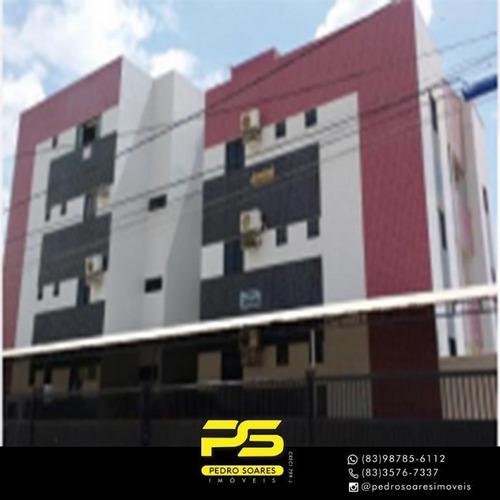 Apartamento Com 4 Dormitórios À Venda, 110 M² Por R$ 199.000 - Ernesto Geisel - João Pessoa/pb - Ap3646