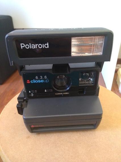 Polaroid Antiga 636 Closeup