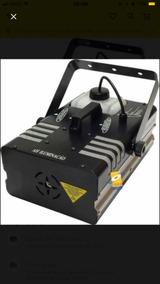 Máquina De Fumaça 3000w Controle Remoto Dmx Ah Iluminação