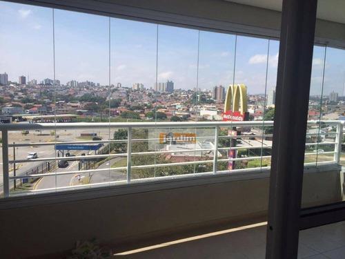 Apartamento Residencial À Venda, Jardim Do Mar, São Bernardo Do Campo. - Ap4060
