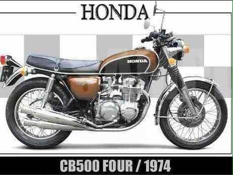 Moto Honda 500 Four - Apenas Venda -