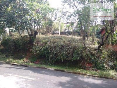 Terreno Residencial À Venda, Aldeia Da Fazendinha, Granja Viana. - Te0119