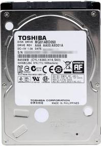 Hd Notebook Toshiba 500 Gigas Sata