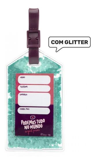Tag De Mala Com Glitter Maisa Ludi