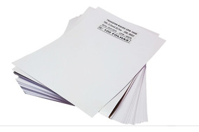 Papel Transfer Laser Rígido P/ Copos E Canecas 20 Folhas A4