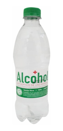 Alcohol Antiseptico De Uso Externo 600 M - mL a $12