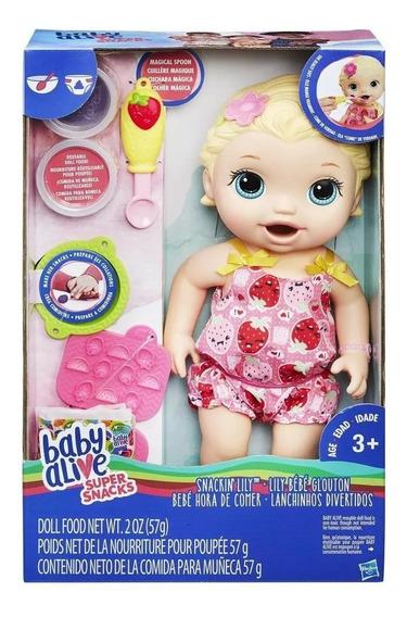 Muñeca Baby Alive Hora De Comer Hasbro Original Tv
