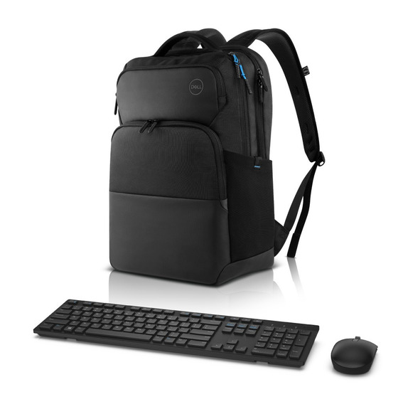 Mochila Notebook Dell Pro 15,6 + Teclado E Mouse Wireless