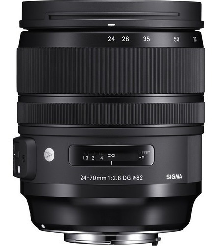 Lente Sigma 24-70mm F/2.8 Dg Os Hsm Art - Nikon Sem Juros