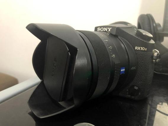 Câmera Sony Rx10 Ii Com Lente F2.8 De 24 200 Mm
