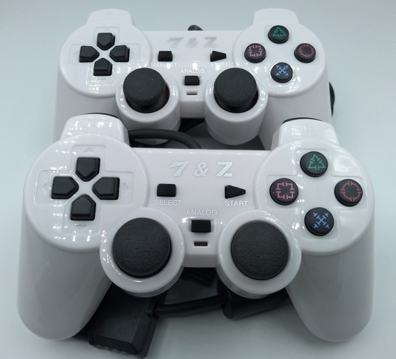Kit 2 Controles Play 1 Play Station 1 Play One Fat Slim