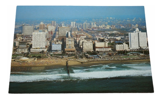 Postal Durban - South & Wedge Beaches - Sudafrica