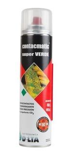 Contacmatic Super Verde 230cc Limpia Contacto Pulsador