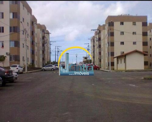 Vendo Apartamento Na Fazenda Grande Iv , 2/4 , 45m² , R$ 109.000,00 Financia !!!! - J115 - 2794101