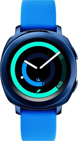 Smartwatch Samsung Gear Sport 43mm Gps 5atm Azul