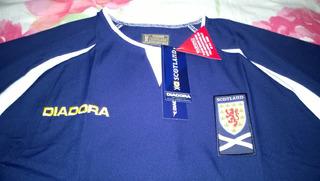 Camisa Diadora Da Seleção Da Escocia 2003/05 Home!!!