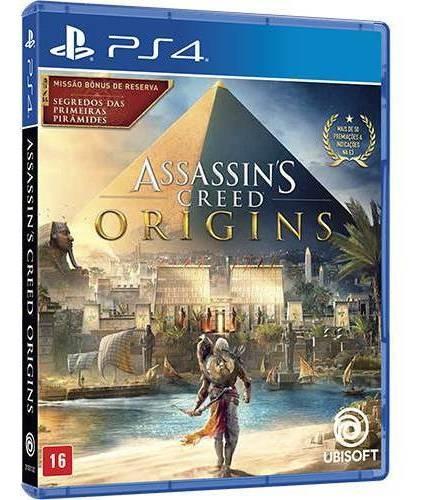 Assassins Creed Origins + Dlc - Ps4 - Mídia Física