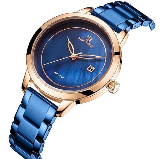 Relógio Feminino Fashion Naviforce Casual Lançamento