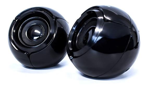 Bocinas Usb Para Computadora Vorago Pc 2.0 Aux 3.5mm Audio Nitido Celulares