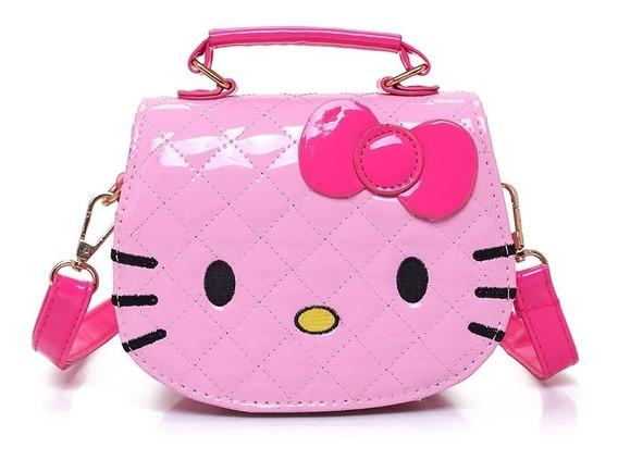 Bolsinha Rosa Hello Kitty Menina Criança