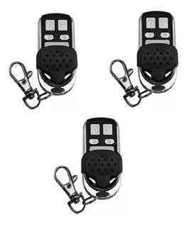 3 Controles Remoto Seg Para Portones Alarmas, Motores 433mhz