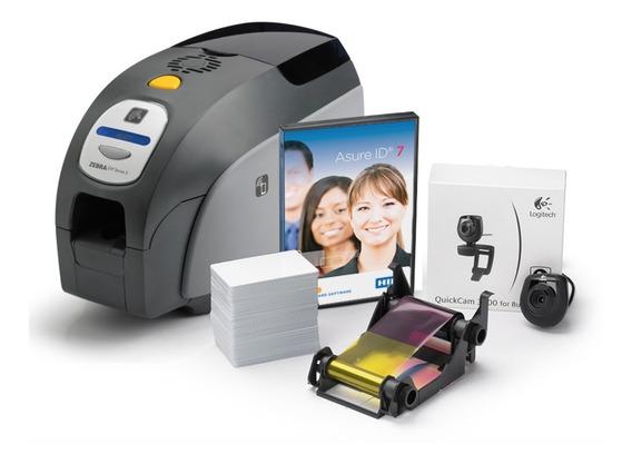 Zxp 3 - Impressora Pvc Termo Transferencia - Dois Lados