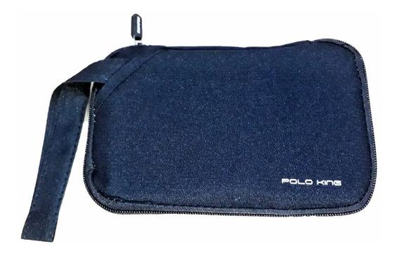Bolsa Necessaire Porta Passaporte Masculina Feminina Executiva Polo King Premium - Promoção!